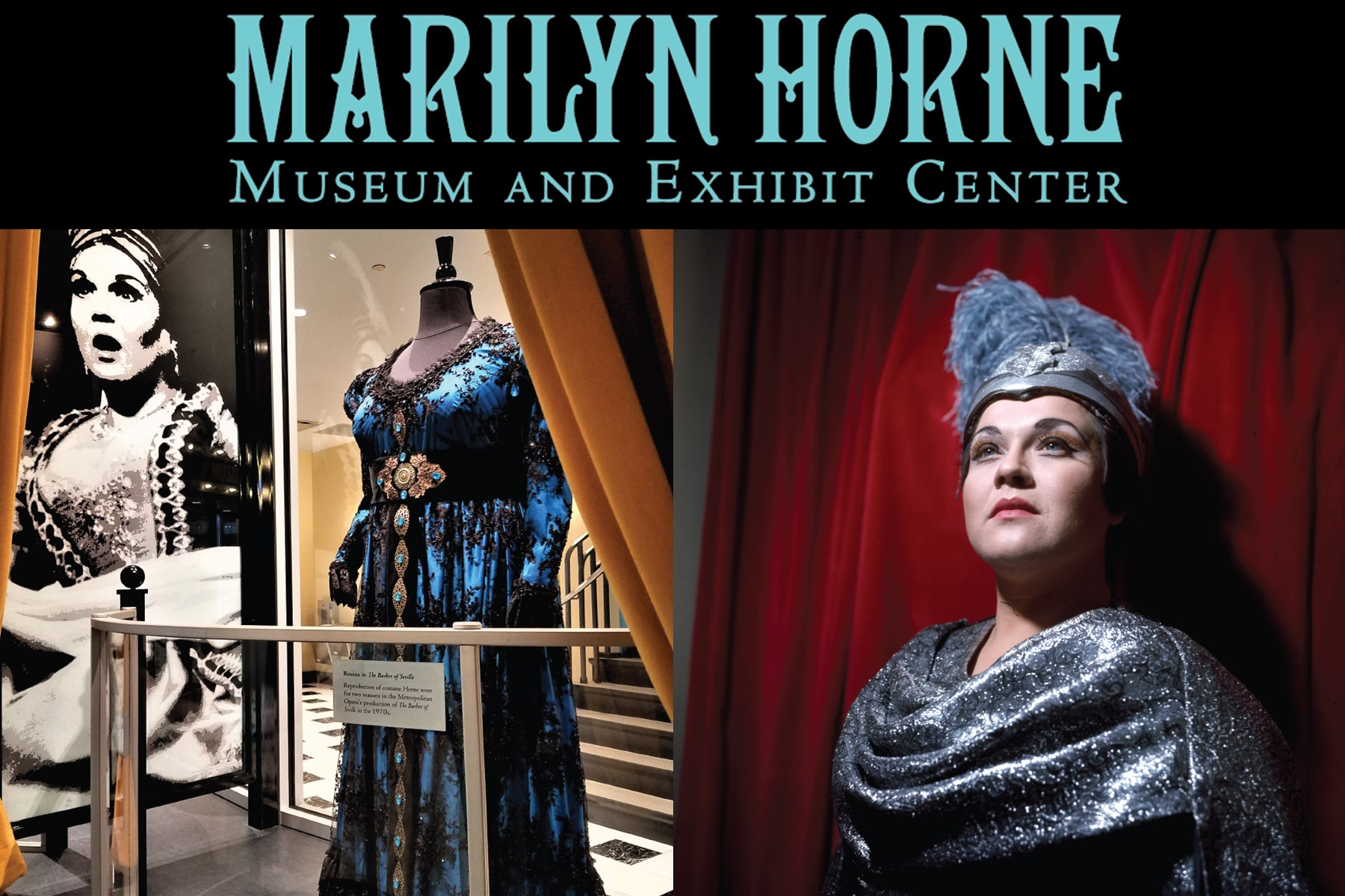 Marquis above Marilyn Horne museum